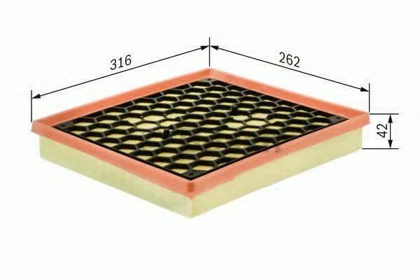 BOSCH F026400014 Воздушный фильтр