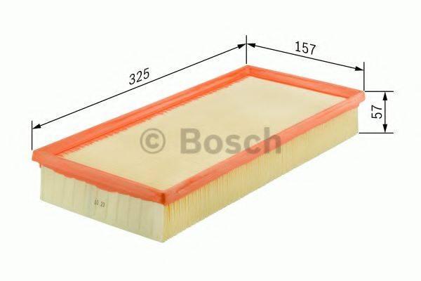 BOSCH 0986626807 Воздушный фильтр