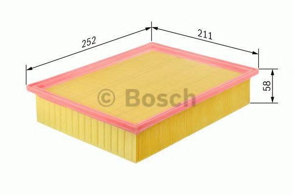 BOSCH 0986626829 Воздушный фильтр