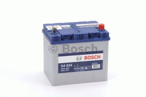 BOSCH 0092S40240 Стартерная аккумуляторная батарея; Стартерная аккумуляторная батарея