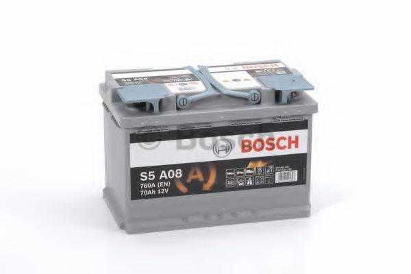 BOSCH 0092S5A080 Стартерная аккумуляторная батарея; Стартерная аккумуляторная батарея