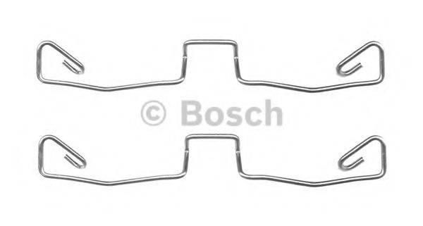 BOSCH 1987474658 Комплектующие, колодки дискового тормоза