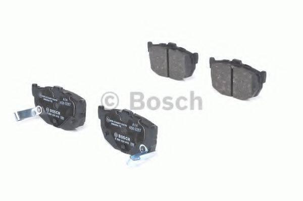BOSCH 0986424418 Комплект тормозных колодок, дисковый тормоз