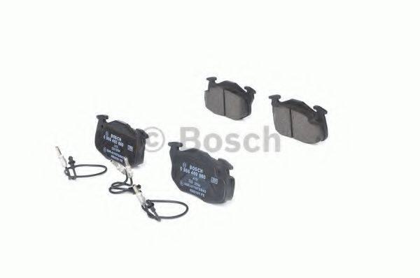 BOSCH 0986469860 Комплект тормозных колодок, дисковый тормоз