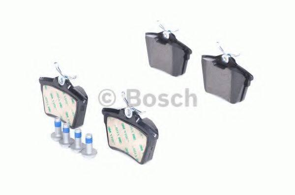 BOSCH 0986494095 Комплект тормозных колодок, дисковый тормоз