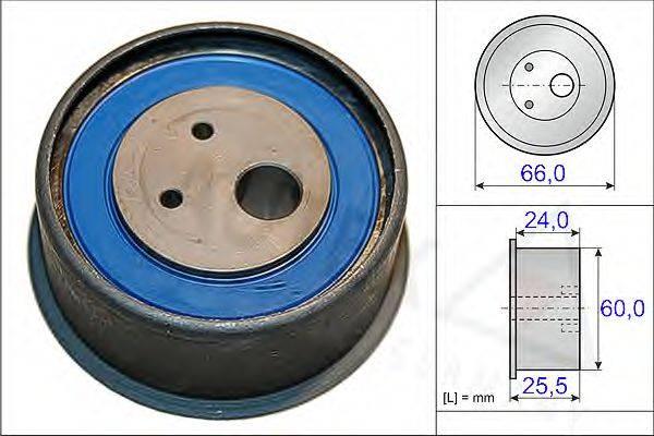 AUTEX 654826 Натяжной ролик, ремень ГРМ