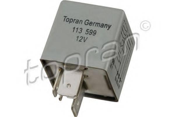 TOPRAN 113599 Реле, топливный насос