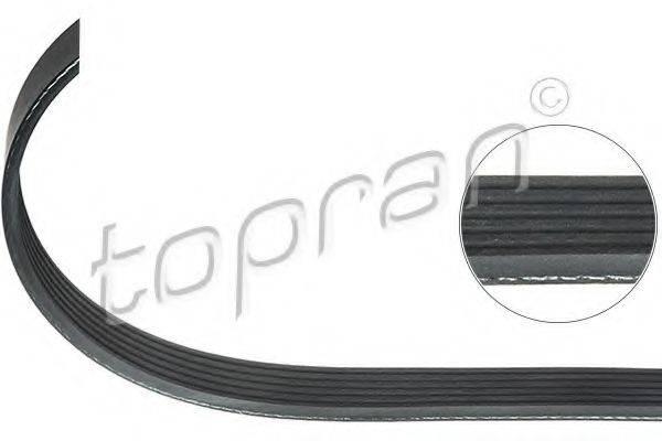 TOPRAN 109738 Поликлиновой ремень