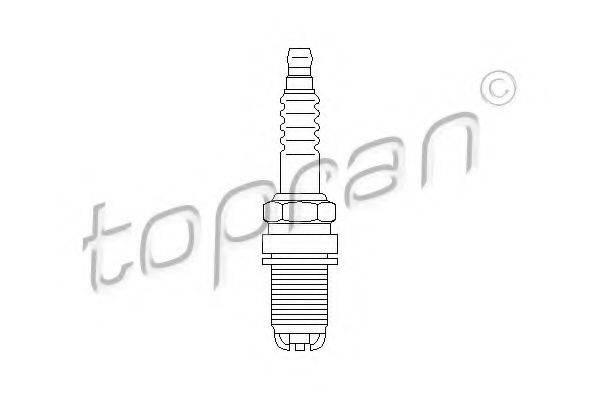 TOPRAN 110327 Свеча зажигания
