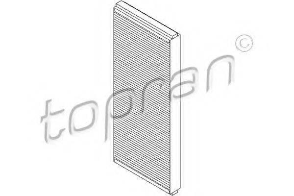 TOPRAN 108409 Фильтр, воздух во внутренном пространстве