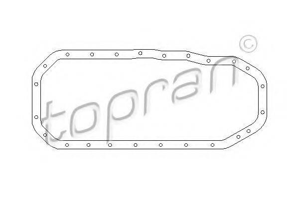 TOPRAN 101029 Прокладка, маслянный поддон