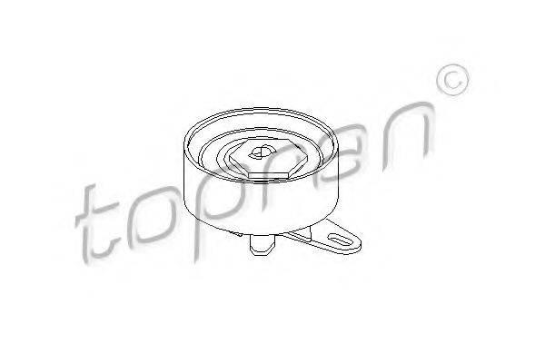 TOPRAN 107314 Натяжной ролик, ремень ГРМ
