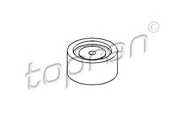 TOPRAN 109140 Паразитный / Ведущий ролик, зубчатый ремень