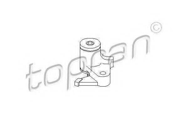 TOPRAN 110052 Устройство для натяжения ремня, ремень ГРМ