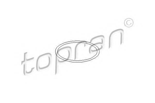 TOPRAN 101521 Прокладка, водяной насос