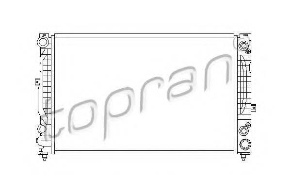 TOPRAN 112294 Радиатор, охлаждение двигателя