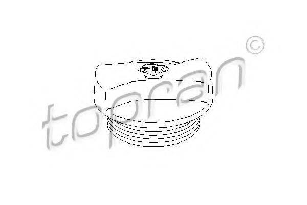 TOPRAN 107532 Крышка, резервуар охлаждающей жидкости