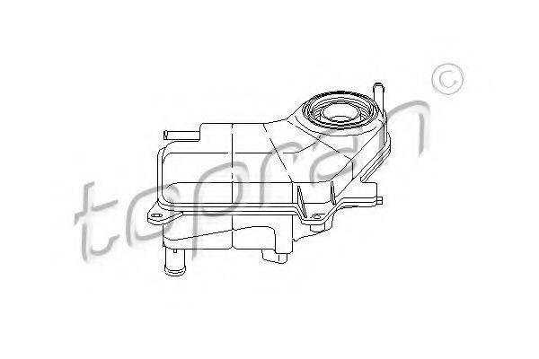 TOPRAN 111030 Компенсационный бак, охлаждающая жидкость