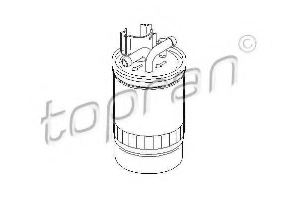 TOPRAN 109048 Топливный фильтр