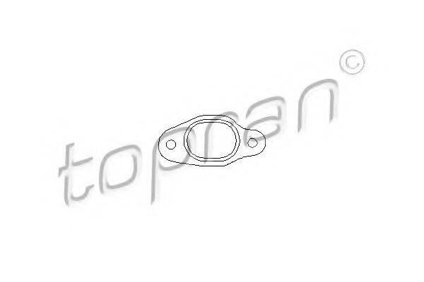 TOPRAN 100318 Прокладка, выпускной коллектор
