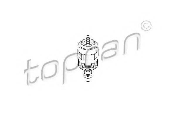 TOPRAN 107539 Стопорный механизм, система впрыска
