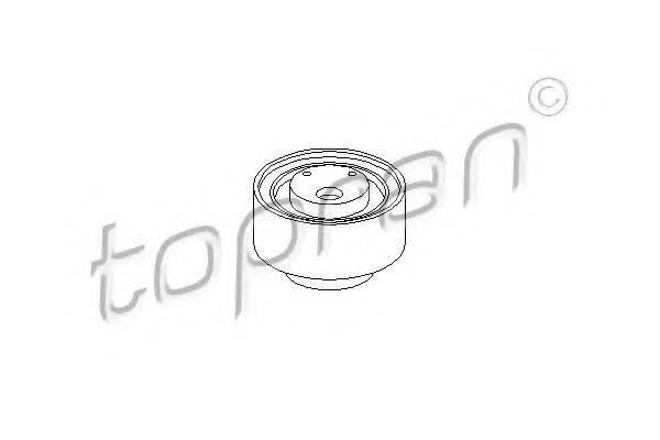 TOPRAN 107508 Натяжной ролик, ремень ГРМ