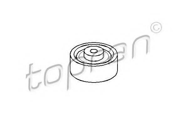 TOPRAN 107335 Натяжной ролик, ремень ГРМ