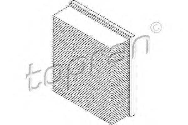 TOPRAN 109047 Воздушный фильтр