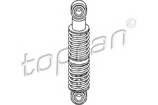 TOPRAN 109806 Натяжитель ремня, клиновой зубча