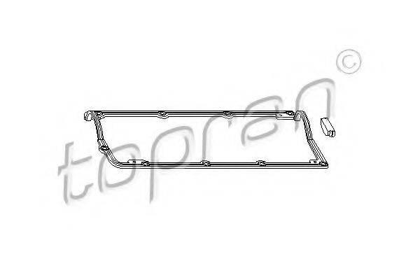 TOPRAN 109651 Комплект прокладок, крышка головки цилиндра