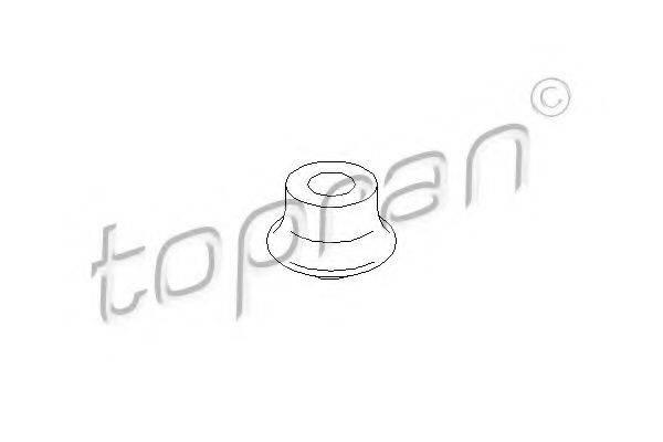 TOPRAN 104277 Подвеска, двигатель