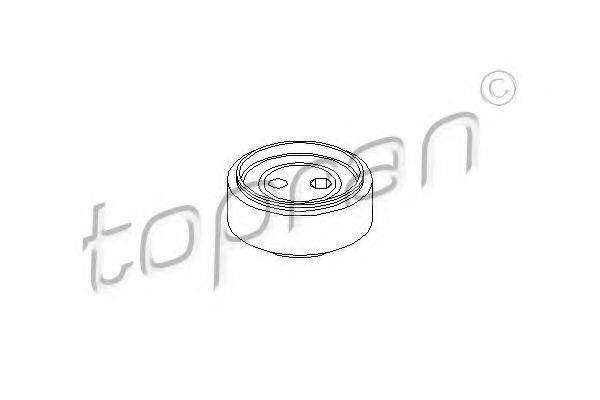 TOPRAN 109157 Натяжной ролик, поликлиновой  ремень