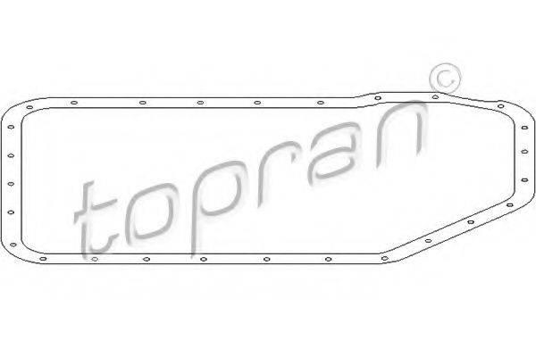TOPRAN 108757 Прокладка, маслянного поддона автоматическ. коробки передач