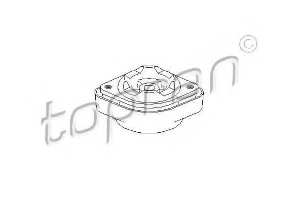 TOPRAN 107991 Подвеска, ступенчатая коробка передач
