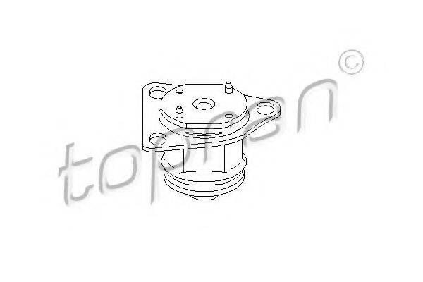 TOPRAN 103734 Подвеска, ступенчатая коробка передач