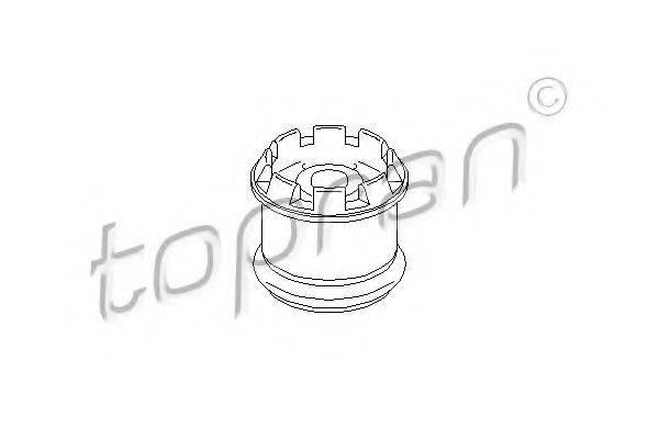 TOPRAN 108081 Подвеска, ступенчатая коробка передач