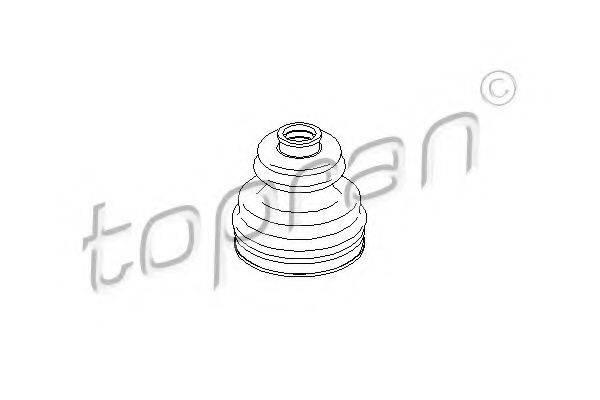 TOPRAN 111776 Пыльник, приводной вал