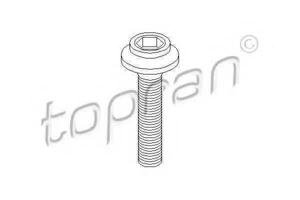 TOPRAN 108139 Болт, фланец карданного вала