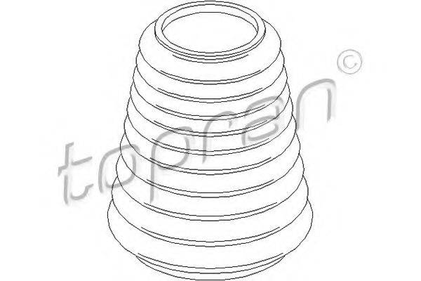 TOPRAN 103619 Защитный колпак / пыльник, амортизатор