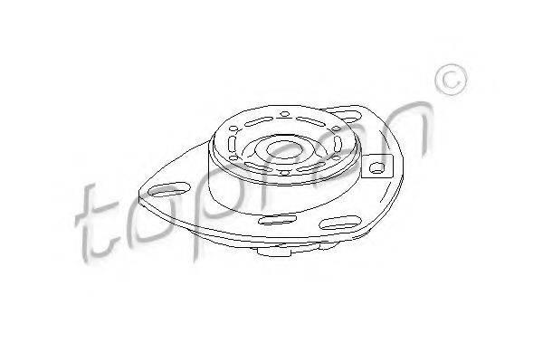 TOPRAN 103745 Опора стойки амортизатора