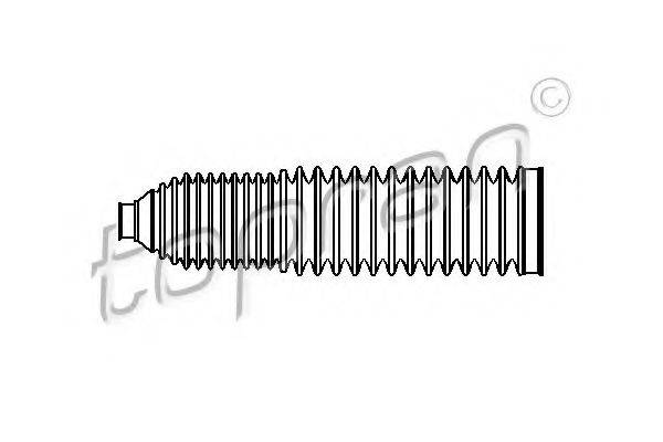 TOPRAN 110172 Пыльник, рулевое управление