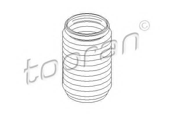 TOPRAN 111744 Защитный колпак / пыльник, амортизатор