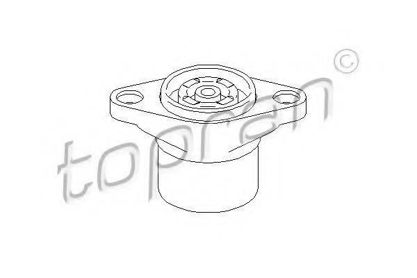 TOPRAN 108602 Опора стойки амортизатора