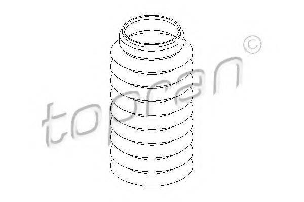 TOPRAN 103519 Защитный колпак / пыльник, амортизатор
