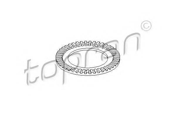 TOPRAN 109114 Зубчатый диск импульсного датчика, противобл. устр.