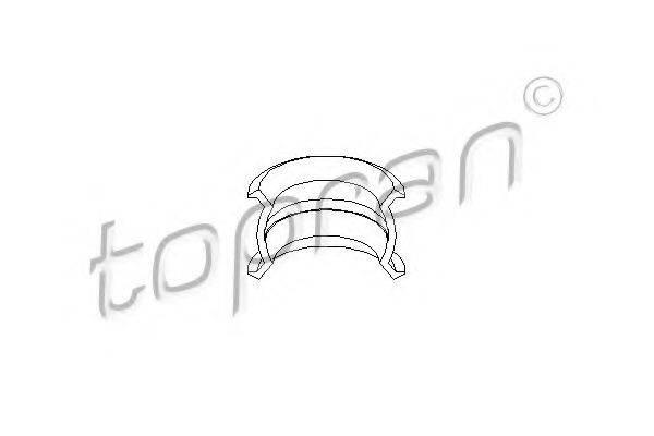 TOPRAN 109708 Втулка, шток вилки переключения передач