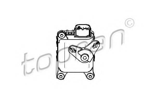 TOPRAN 111100 Регулировочный элемент, смесительный клапан