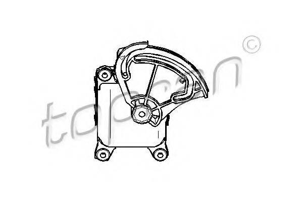 TOPRAN 111099 Регулировочный элемент, смесительный клапан