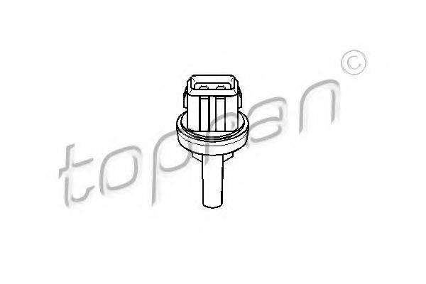 TOPRAN 111037 Термовыключатель, вентилятор кондиционера