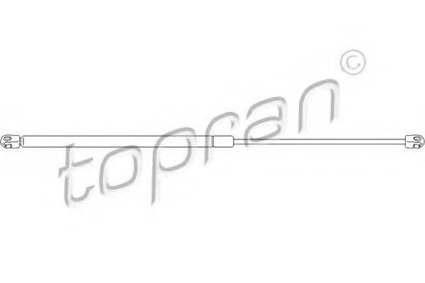 TOPRAN 110266 Газовая пружина, крышка багажник